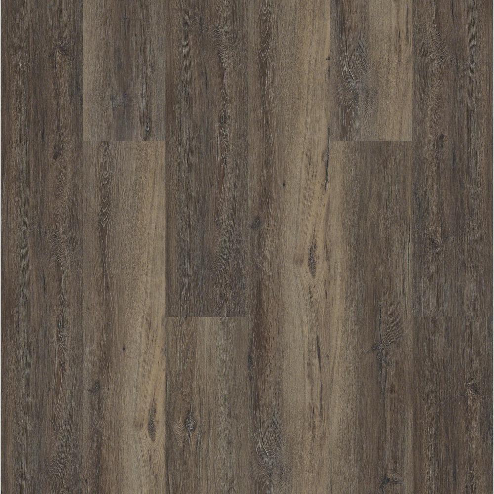 Melrose Oak Click 9 in. x 59 in. Lodge Resilient Vinyl Plank Flooring (21.79 sq. ft. / case)