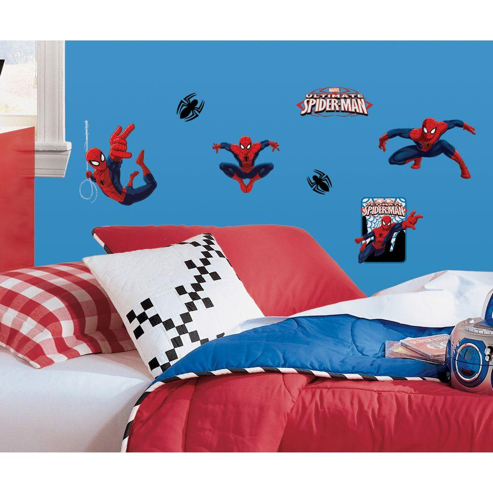 Spiderman   Ultimate Spiderman 22 Piece Peel And