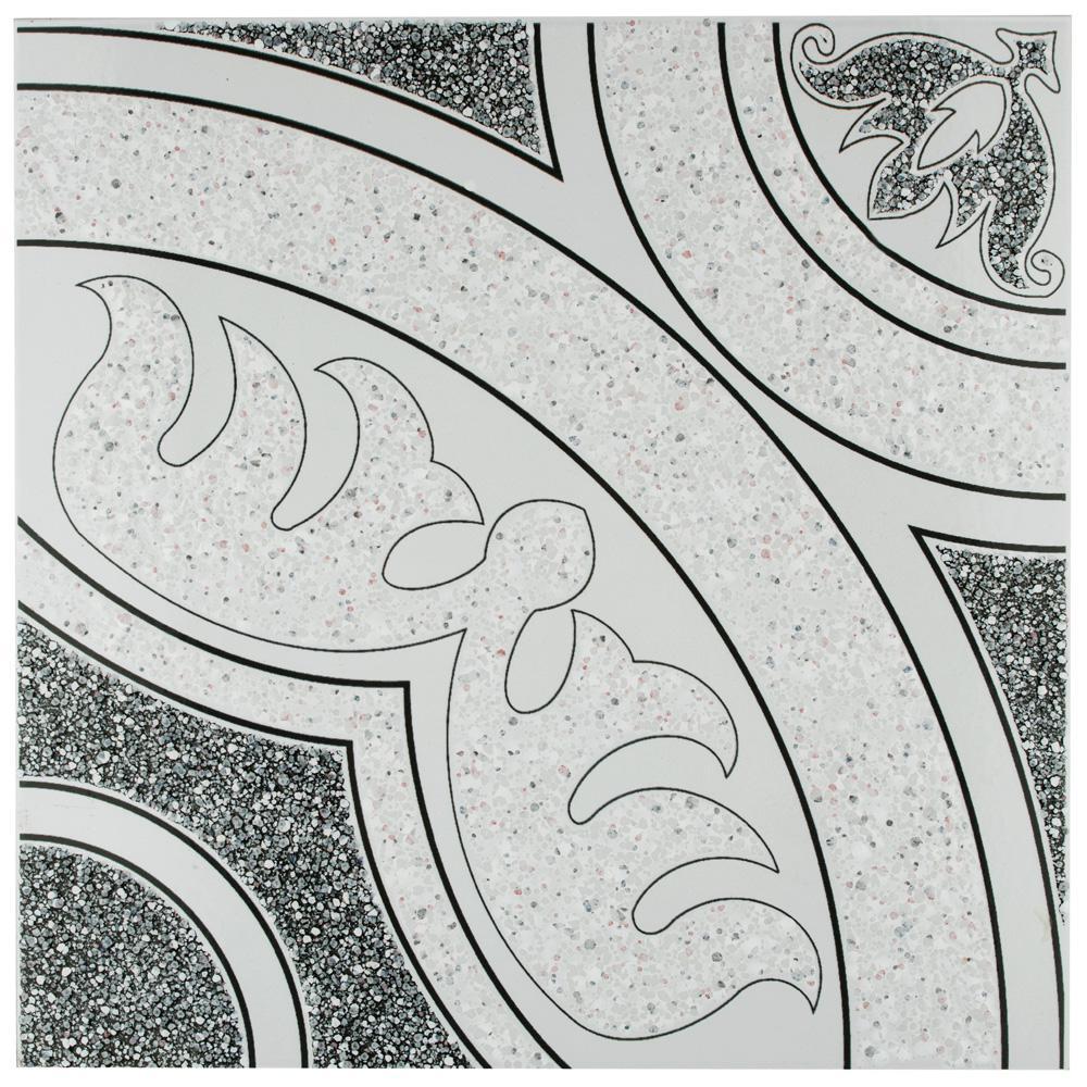 Merola Tile Agadir Negro 12-1/2 in. x 12-1/2 in. Ceramic Floor and Wall Tile (11.29 sq. ft. / case)
