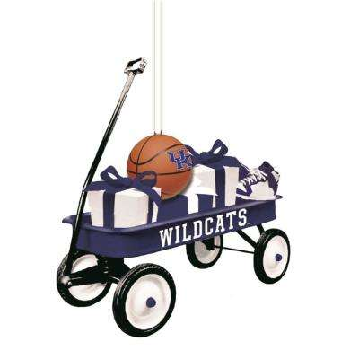 University of Kentucky 1-3/4 in. NCAA Team Wagon Christmas Ornament