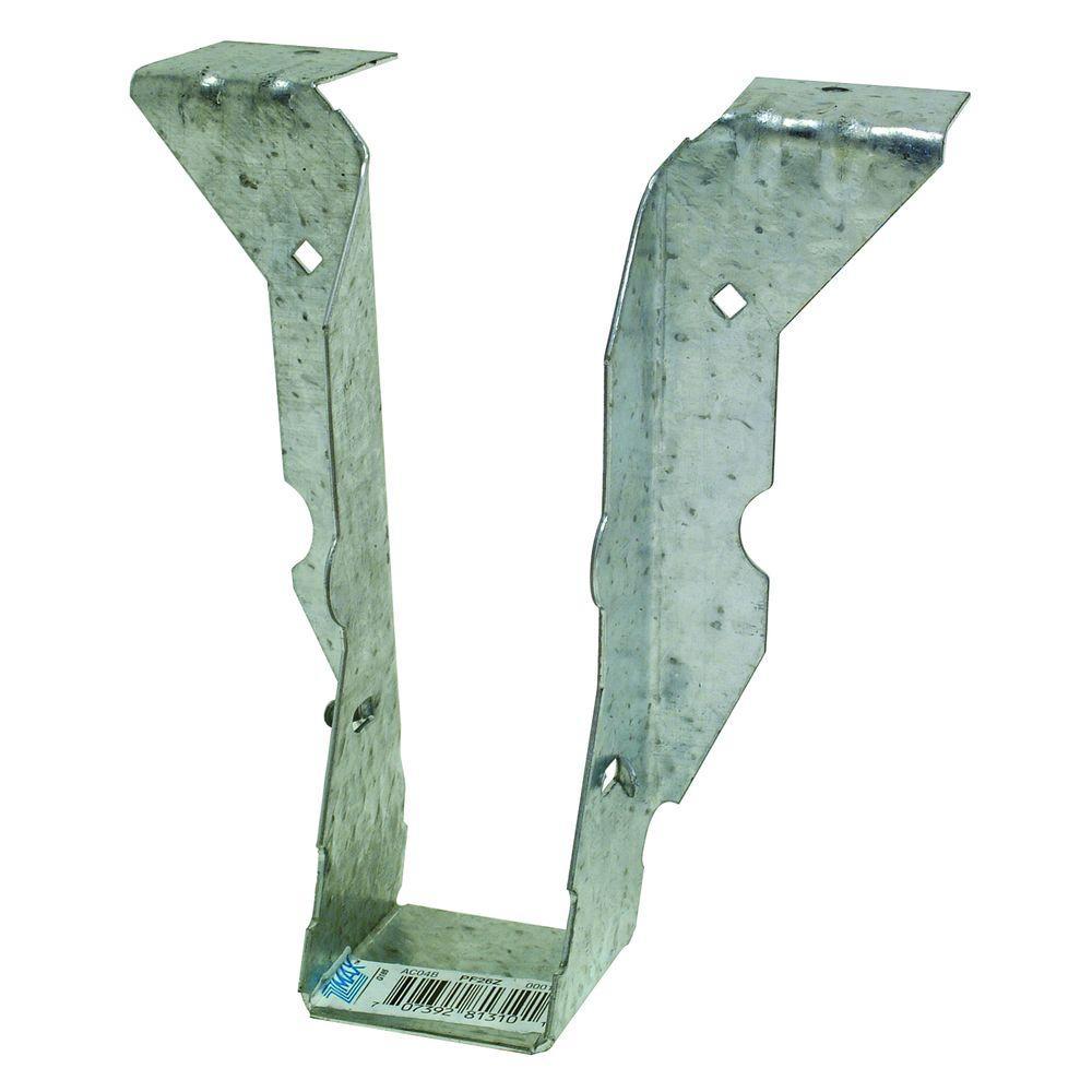 PF 18-Gauge ZMAX Galvanized Post Frame Hanger for 2x6 Nominal Lumber