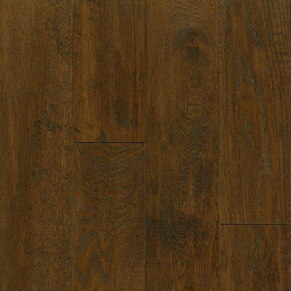 Take Home Sample - American Vintage Scraped Mocha Hardwood Flooring -