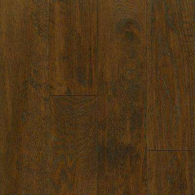 Take Home Sample - American Vintage Scraped Mocha Hardwood Flooring - 5 in. x 7 in.