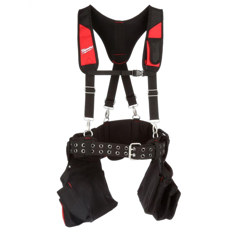 Milwaukee General Contractor Work Belt With Suspension Rig