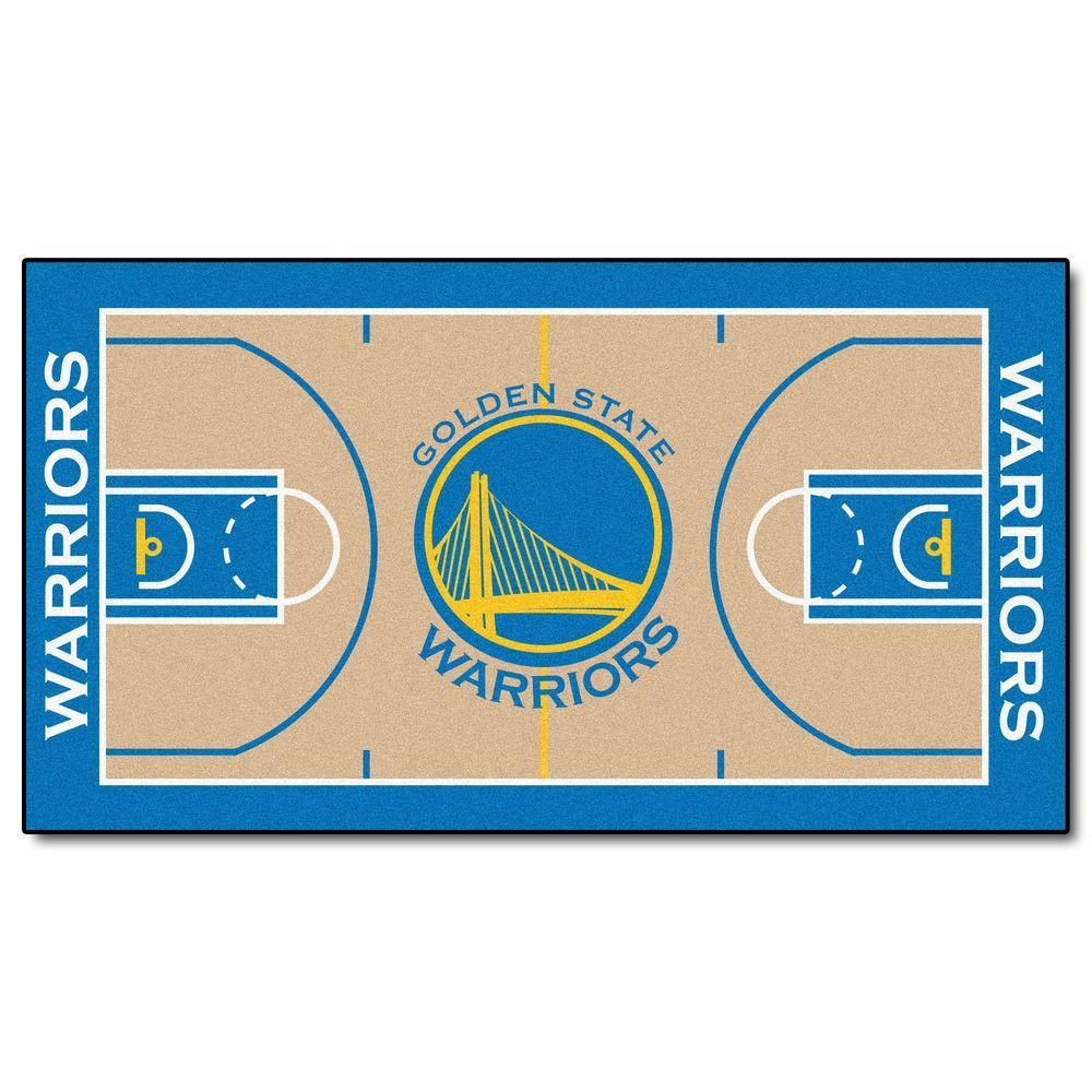 Fanmats Nba Golden State Warriors 3 Ft X 5 Ft Large