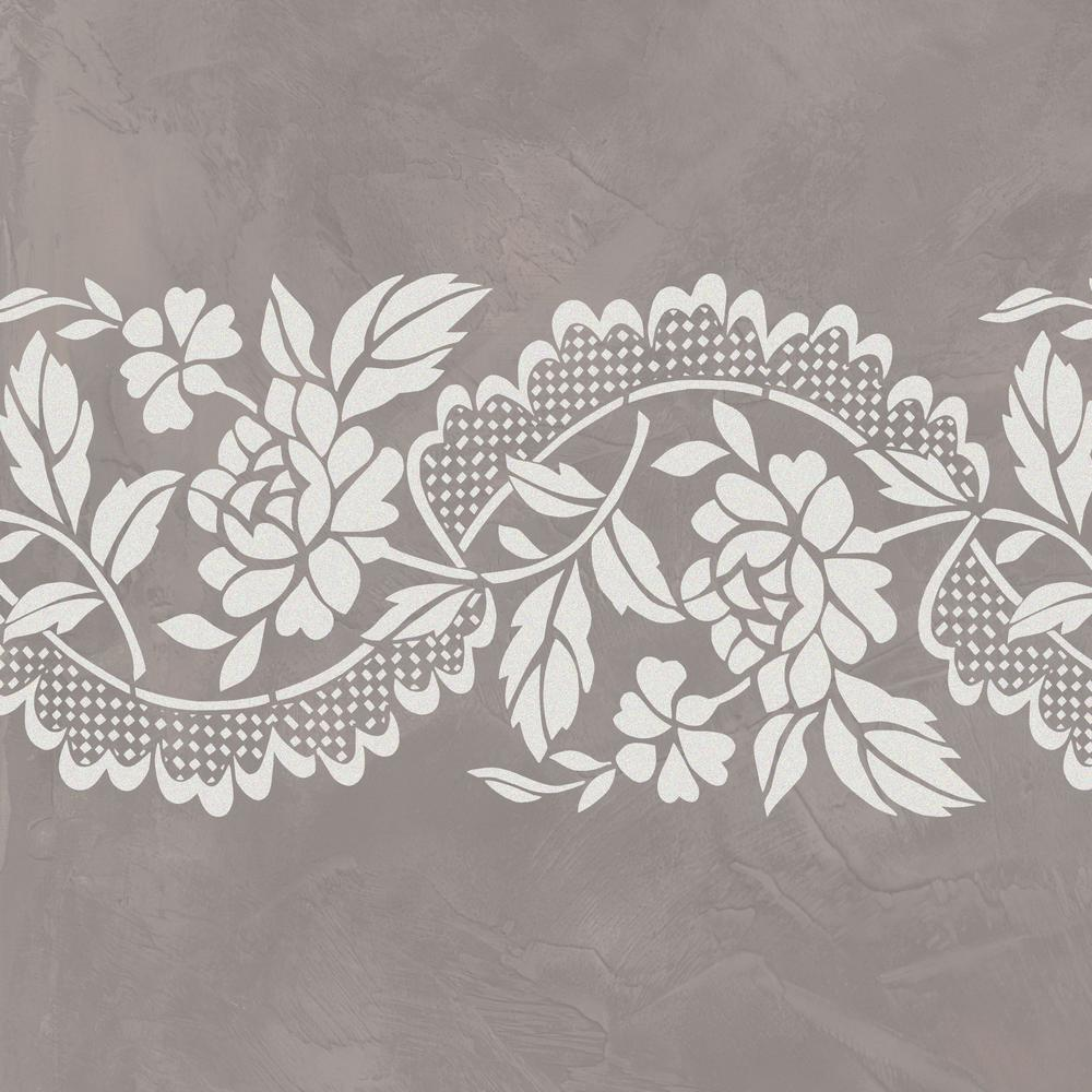 Designer Stencils Roses And Lace Wall Stencil By Jeff Raum Jr31