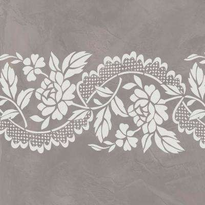 Roses and Lace Wall Stencil by Jeff Raum