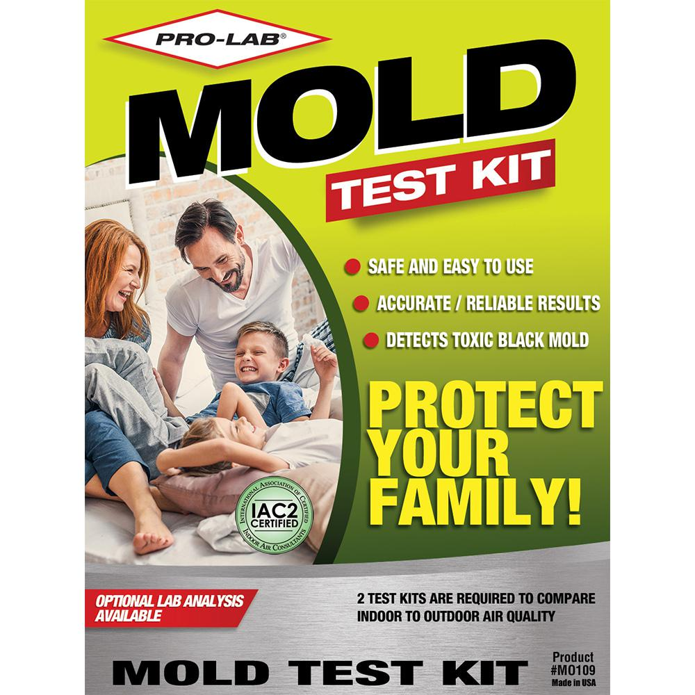 pro lab mold test kit mo109 the home depot. Black Bedroom Furniture Sets. Home Design Ideas