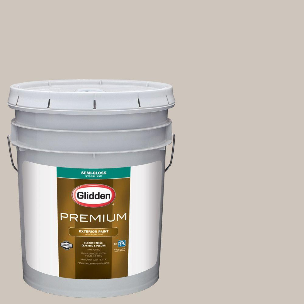 Hdgwn36 Fossil Grey Semi Gloss Latex Exterior Paint