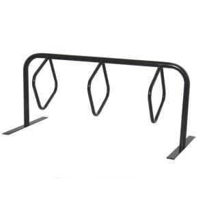Ultra Play 6 ft, 3-Loop Commercial Surface Mount Hanger Bike Rack by Ultra Play