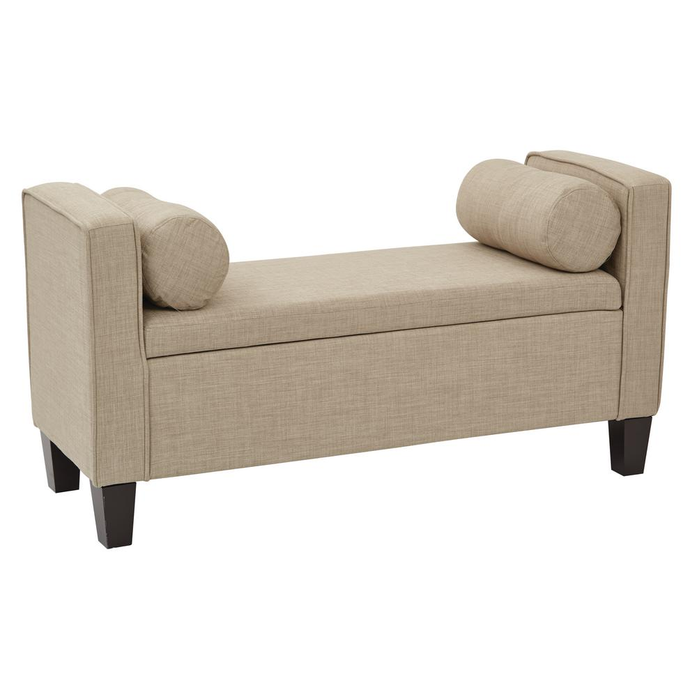 Bassett Furniture Milford Ct: Inspired By Bassett Cordoba Milford Toast Fabric Storage