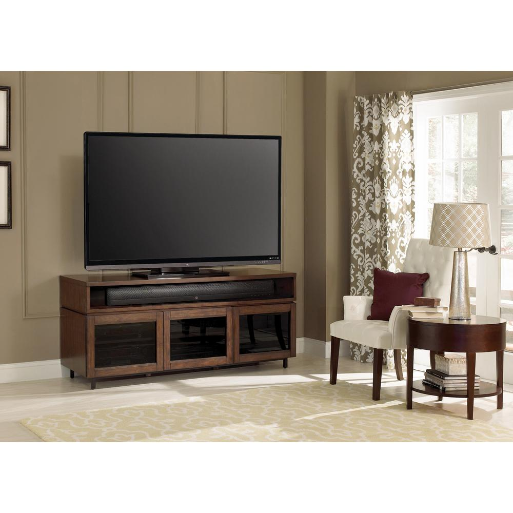 Modern Tv Stands Living Room Furniture The Home Depot # Table Tv Simple A Petit Prix