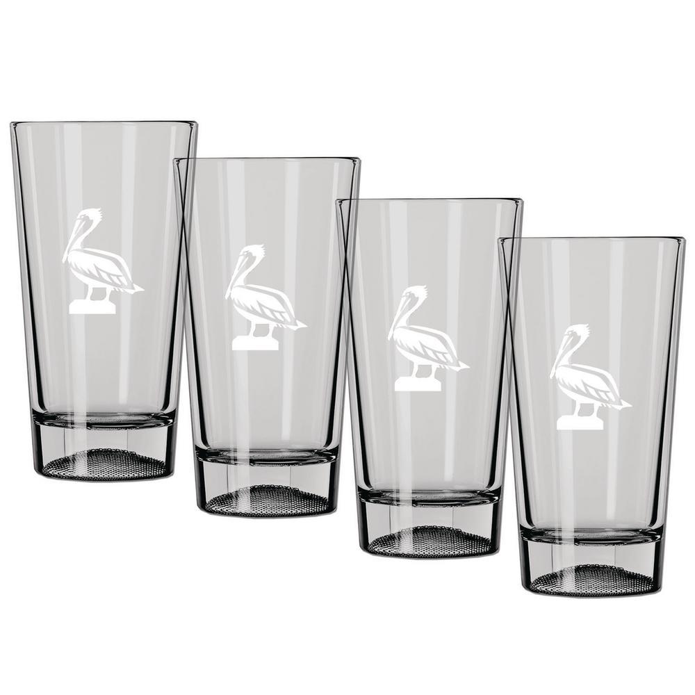 Kraftware Kasualware Pelican 16 oz. Pint Glass (Set of 4)