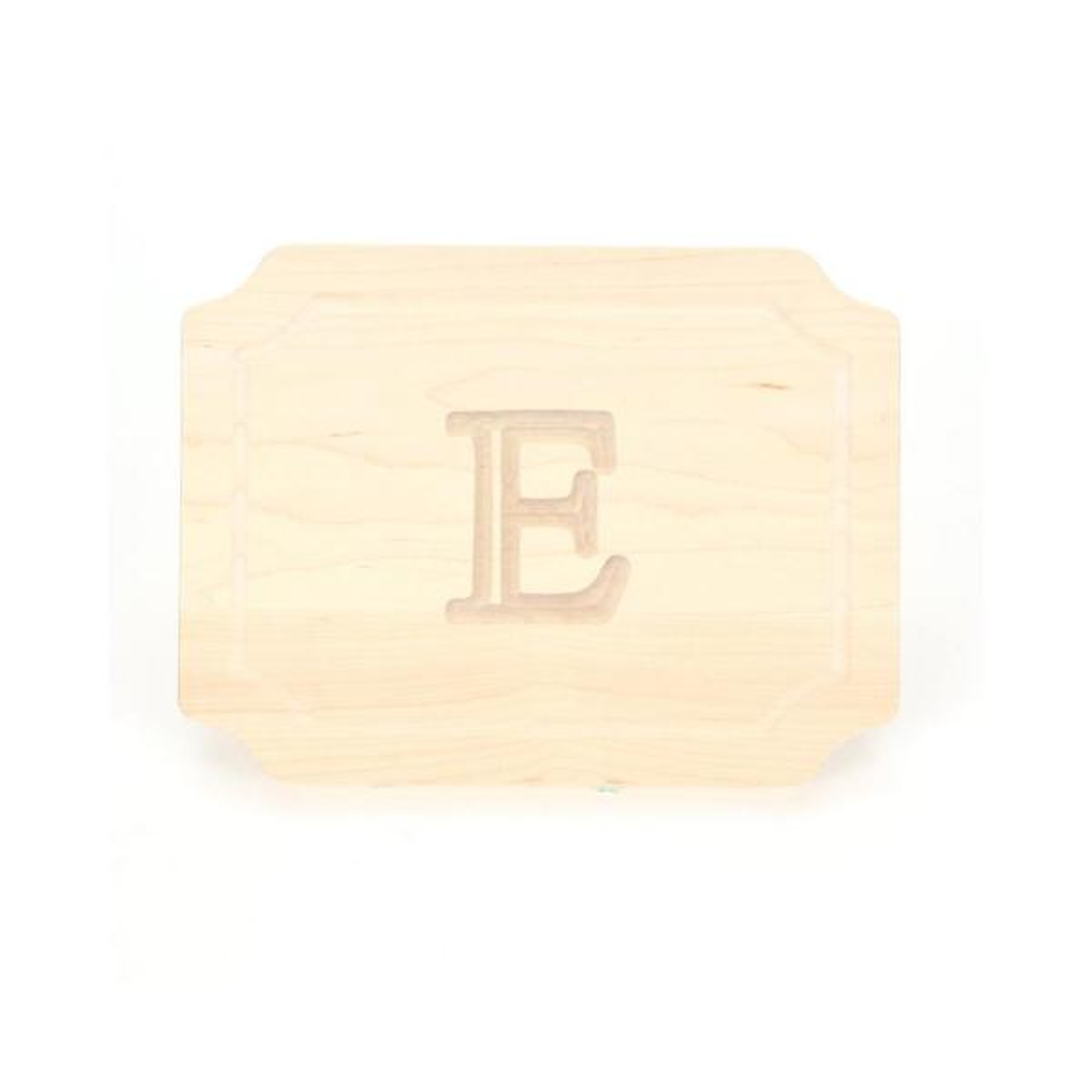 BigWood Boards Scalloped Maple Cheese Board E 300-E