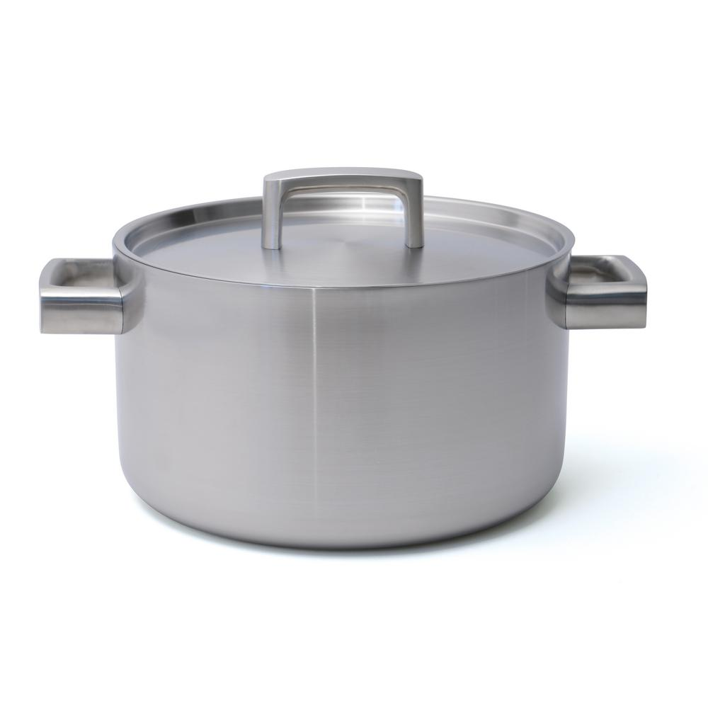 Berghoff International Inc Ron 6.4 Qt. 5-Ply Stainless St...