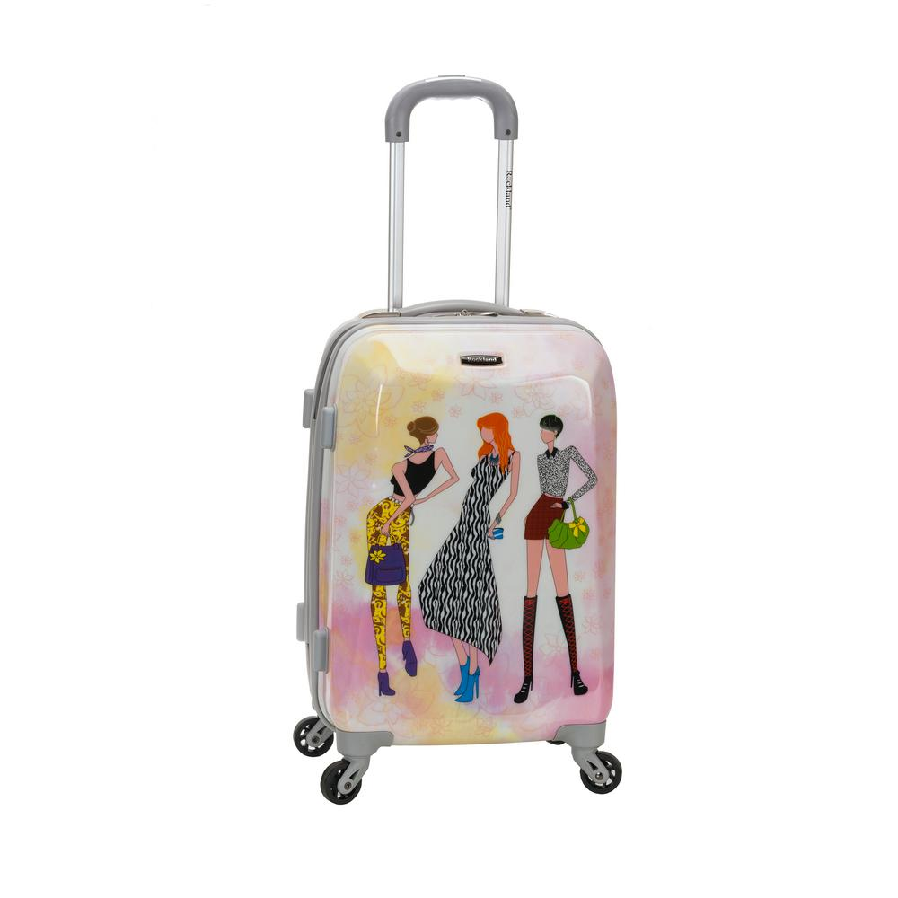 Rockland 20 in. Polycarbonate Carry-On, Fashion