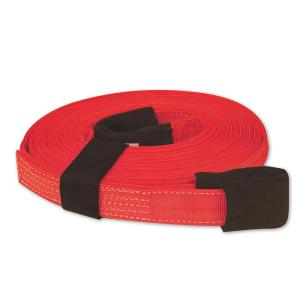 SNAP-LOC 30 ft. x 2 inch x 30 ft. Tow Strap with Hook and Loop Storage Fastener in Red by SNAP-LOC