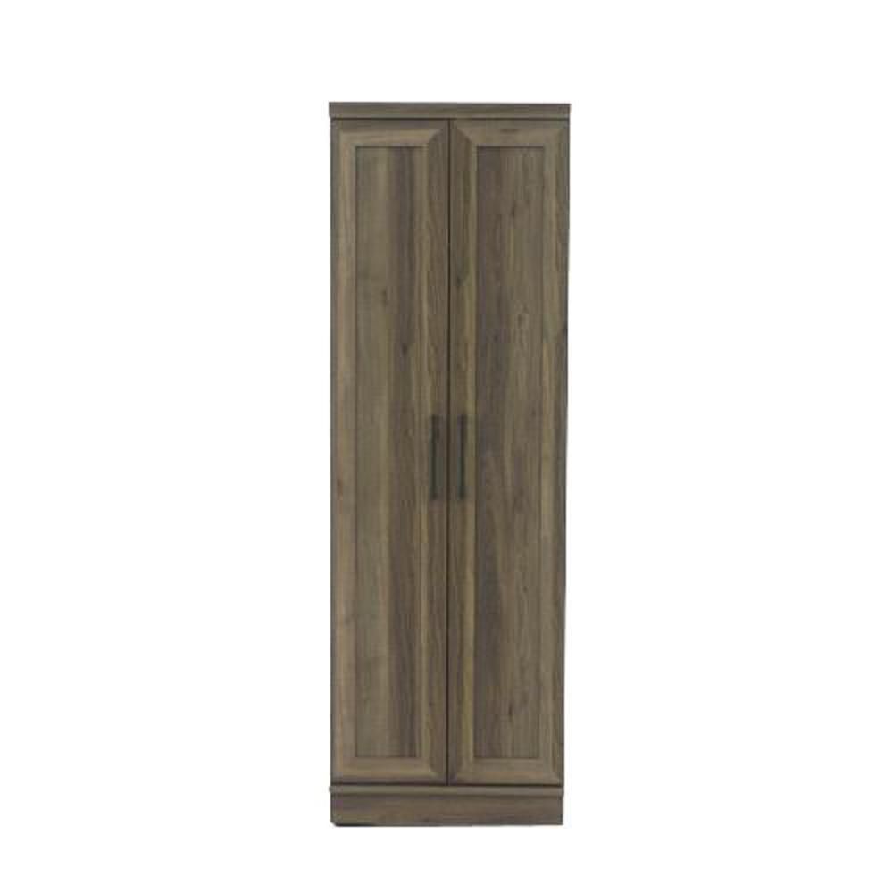 HomePlus 23 in. Salt Oak Wide Storage Cabinet