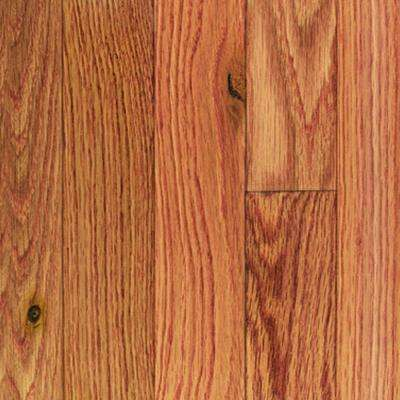 Oak Butterscotch 3/8 in. Thick x 3-3/4 in. Wide x Random Length Engineered Click Hardwood Flooring (24.4 sq. ft. / case)