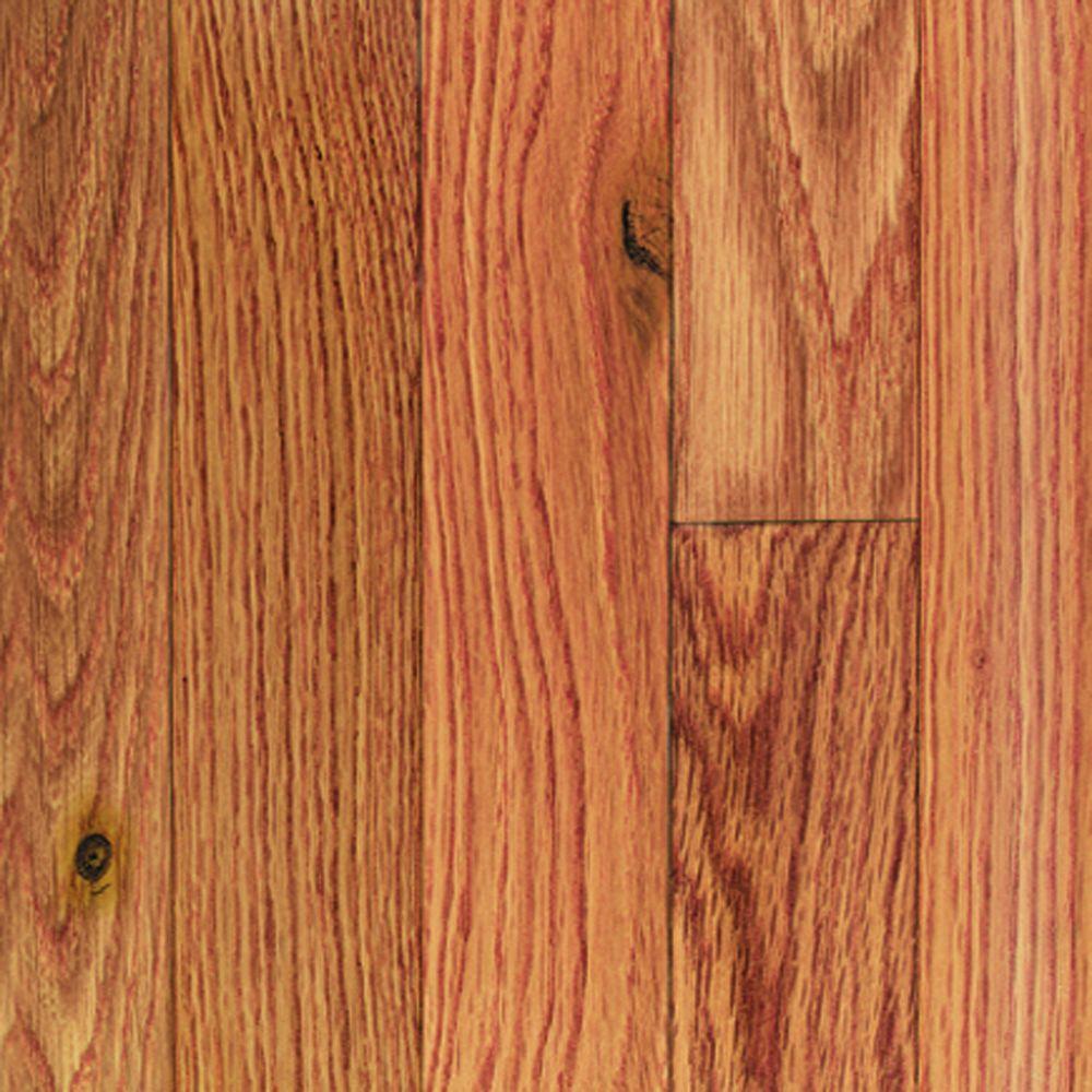 Millstead Oak Butterscotch 1/2 in. Thick x 3 in. Wide x Random Length Engineered Hardwood Flooring (24 sq. ft. / case)