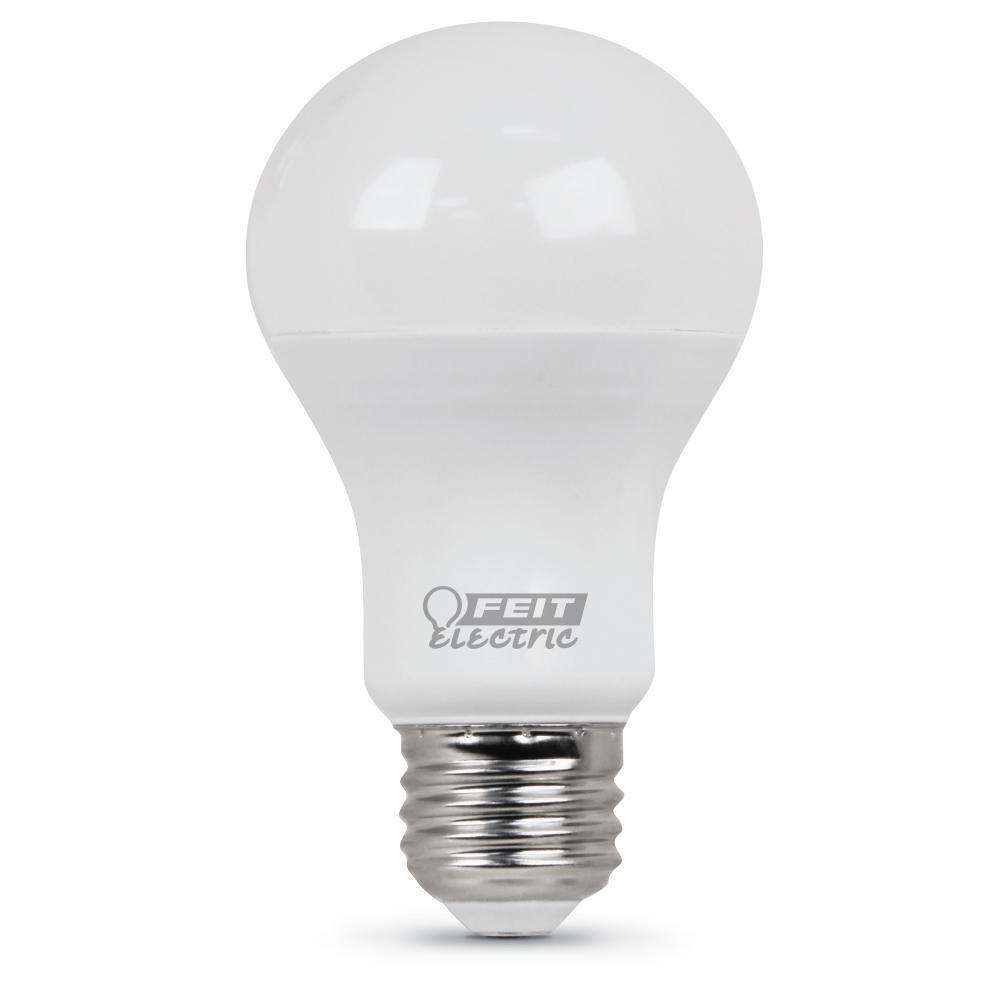 40-Watt Equivalent Soft White A19 LED Medium Base Light Bulb (Case