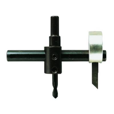 Adjustable Wheel and Circle Hole Cutter for use with drill press