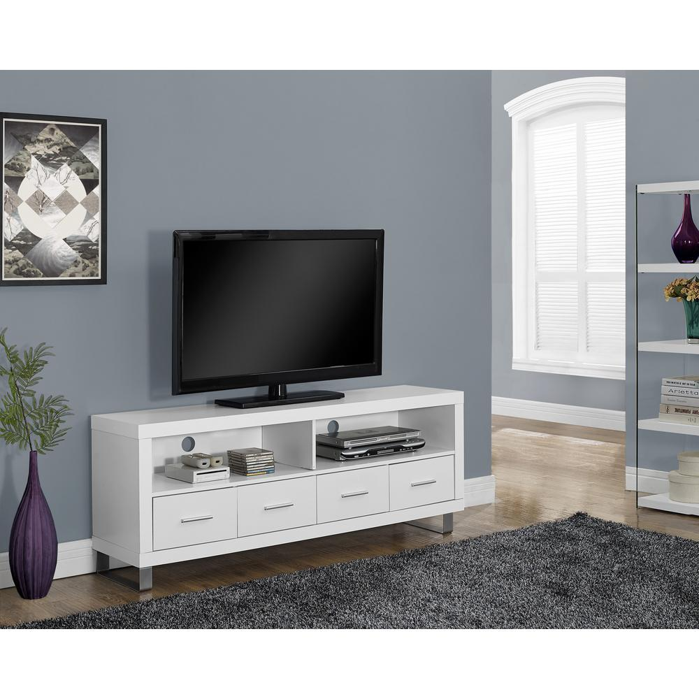 tv stand white ameriwood wade rustic gray mobile entertainment center 28785