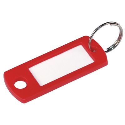 Color-Coded Plastic Key Identification Tag Assortment