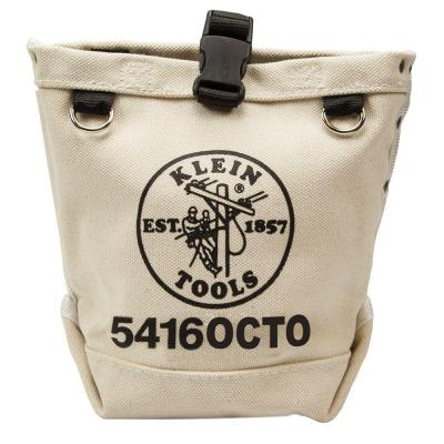 9.5 in. Bull-Pin and Canvas Bolt Tool Bag with Connection Points