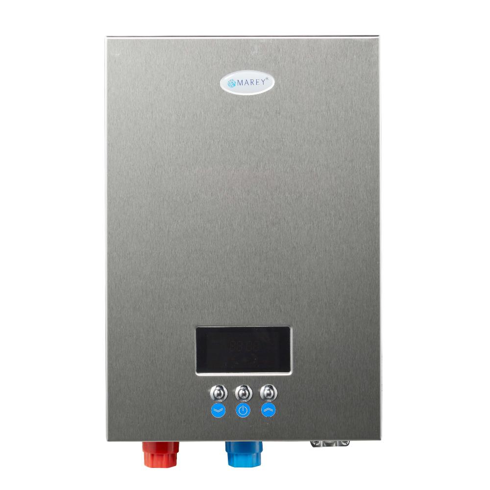 18 kw, 4 4 gpm etl certified 220-volt self-modulating residential multiple  points of use tankless electric water heater