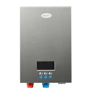 EcoSmart 18 kW Self-Modulating 3.5 GPM Electric Tankless Water ... on