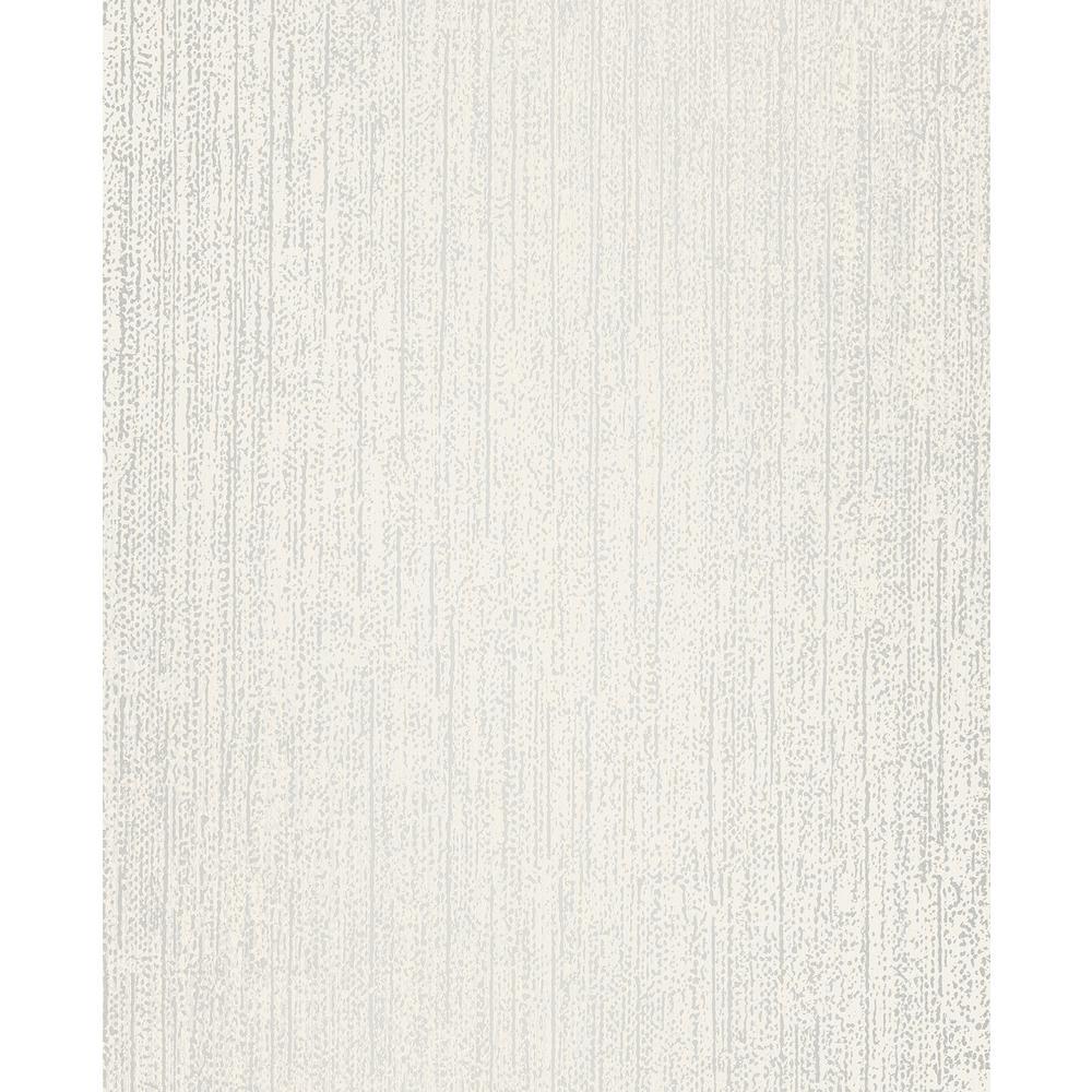 Decorline Lize White Weave Texture Wallpaper