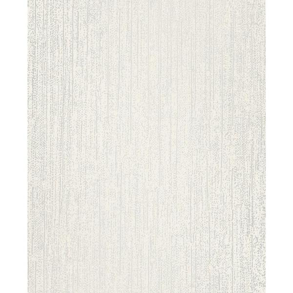 Wallpaper Paintable White Textured Modern Notched Hinge Stripe