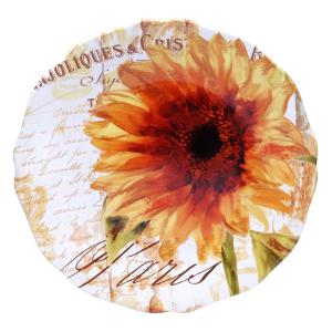 Certified International Paris Sunflower Round Platter by Certified International