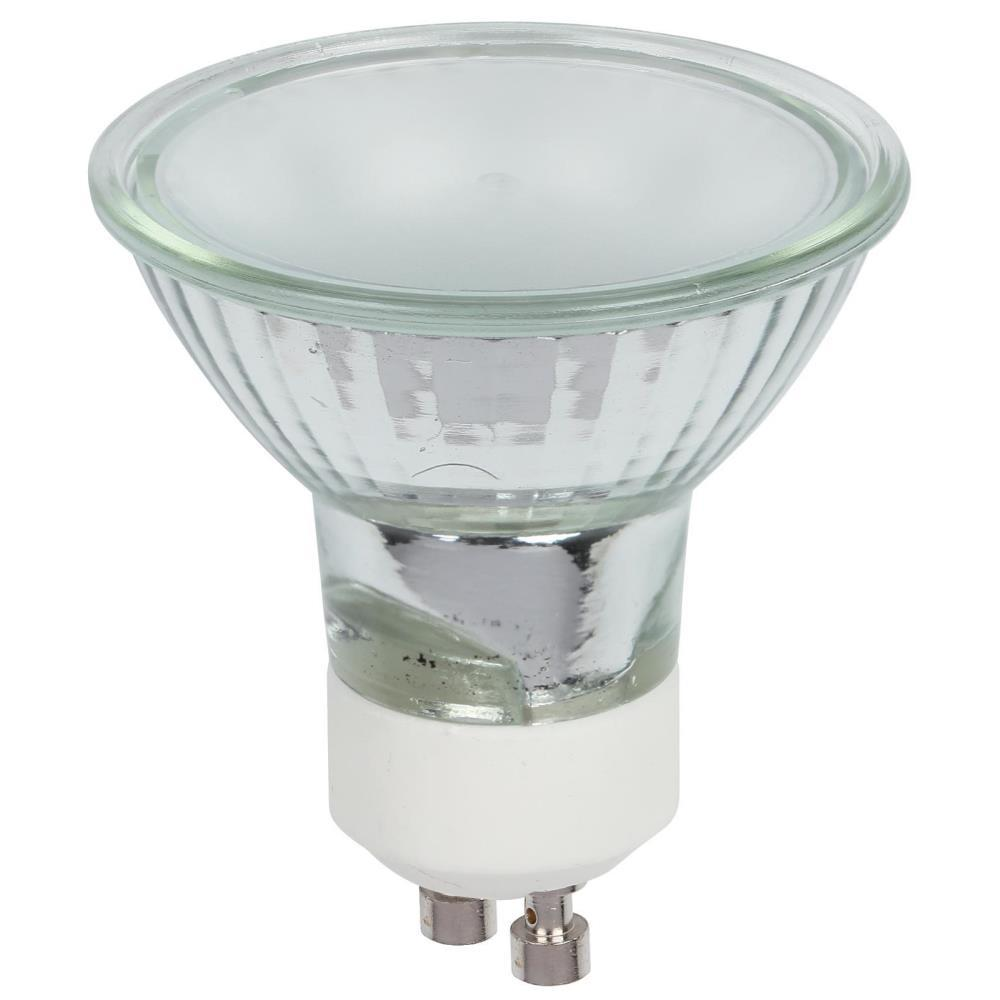 westinghouse 50 watt halogen mr16 frost lens gu10 base flood light bulb 3 pack 0478900 the. Black Bedroom Furniture Sets. Home Design Ideas