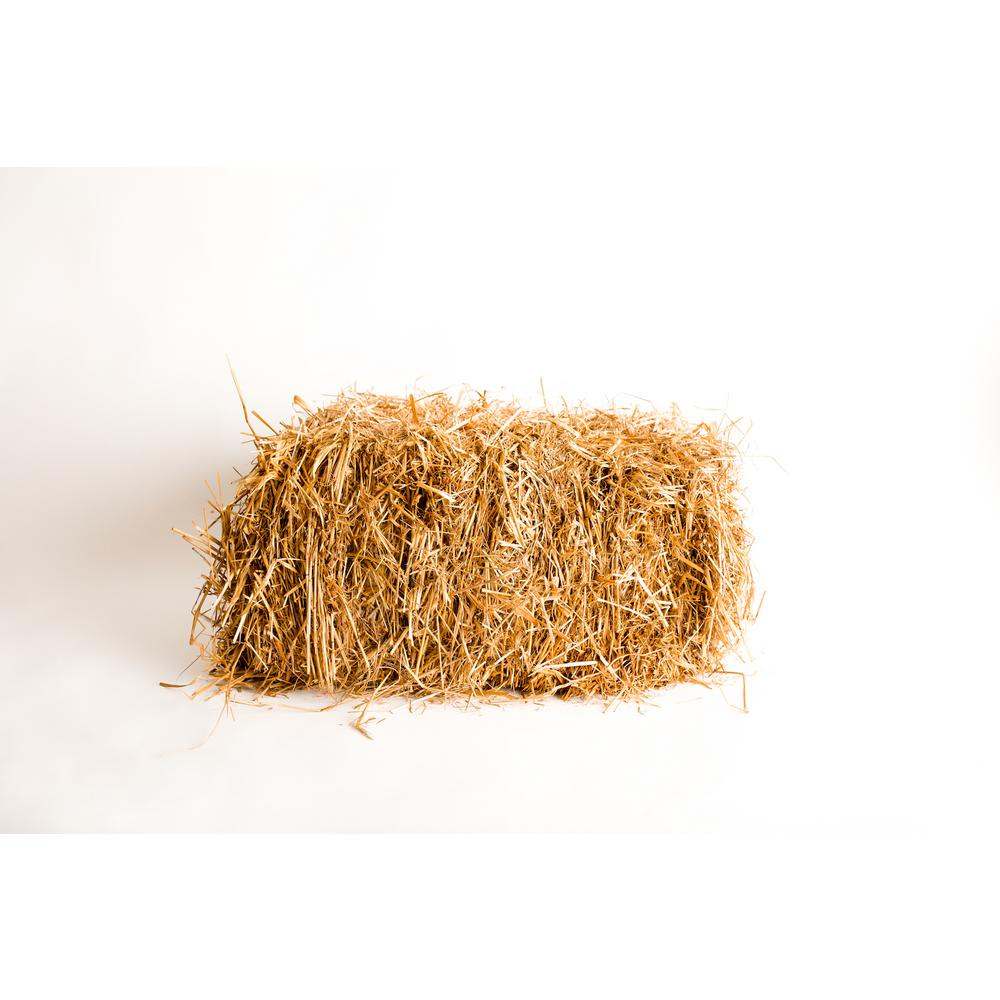 Baled Wheat Straw 875333 The Home Depot