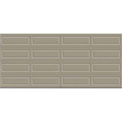 Premium Series Insulated Long Panel Garage Door