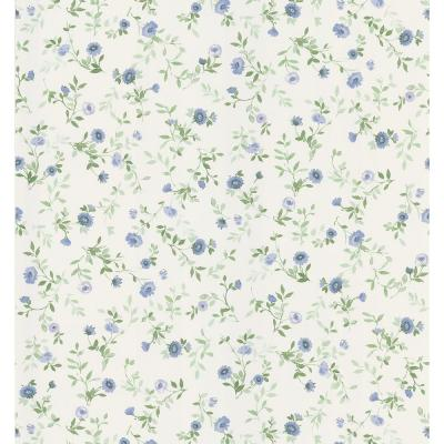 Wash Floral Wallpaper