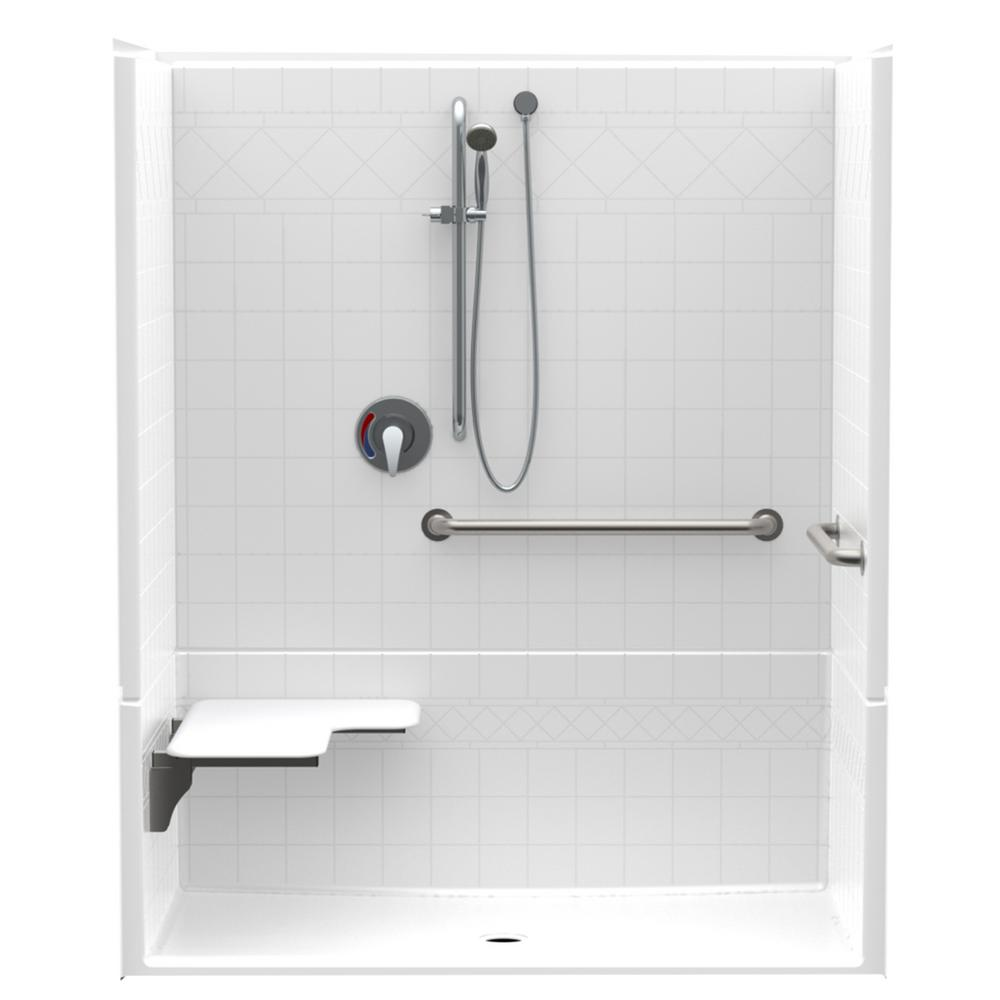 Accessible Diagonal Tile AcrylX ANSI Configured 60 in. x 34 in.