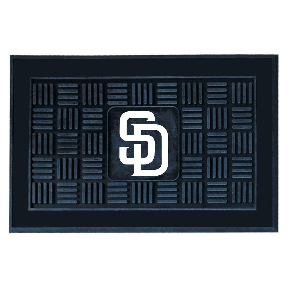San Diego Padres 18 in. x 30 in. Door Mat