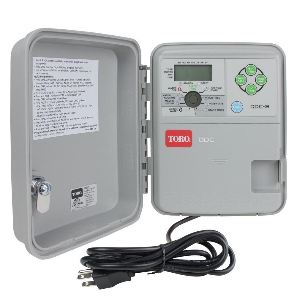 DDC Indoor/Outdoor 8-Station Controller