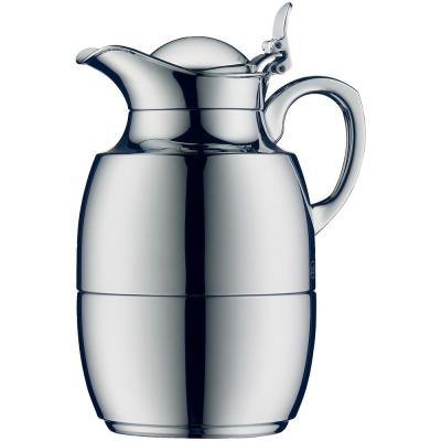 Juwel Glass Vacuum Chrome-Plated Carafe