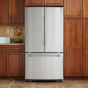 Samsung 25 5 cu  ft  French Door Refrigerator in Stainless Steel