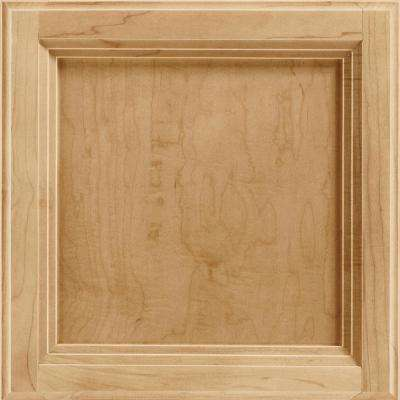 12-7/8 in. x 13 in. Cabinet Door Sample in Ashland Maple Rye