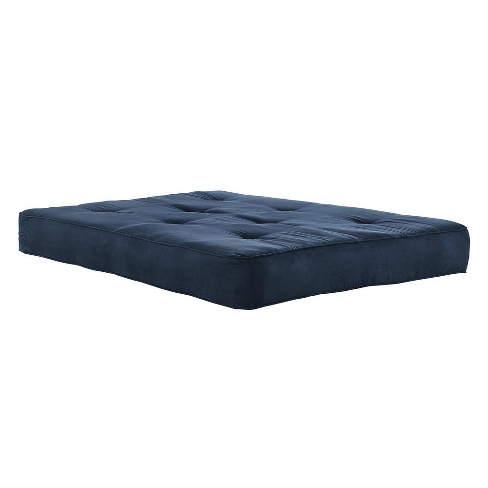 Medium image of dhp 8 in  independently encased coil futon mattress with certipur us certified foam in