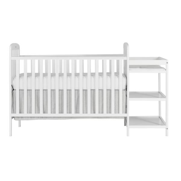 Dream On Me Anna 4 in 1 Full Size Crib and Changing Table Combo