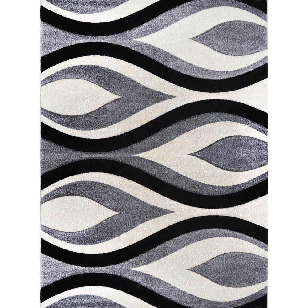 home dynamix sumatra gray 7 ft. 8 in. x 10 ft. 2 in. area rug-1