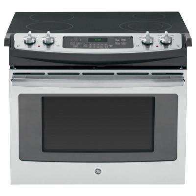 4.4 cu. ft. Drop-In Electric Range with Self-Cleaning in Stainless Steel