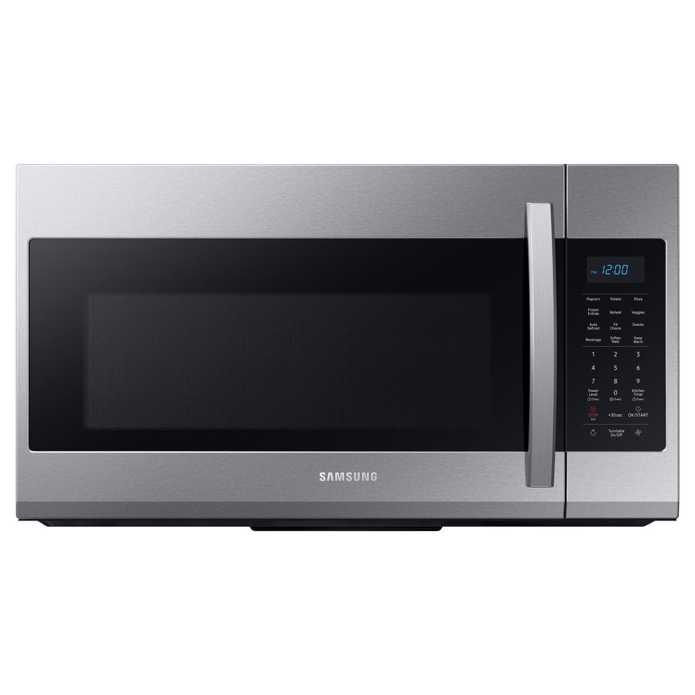 Samsung Samsung 30 in. 1.9 cu. ft. Over-the-Range Microwave in Fingerprint Resistant Stainless Steel
