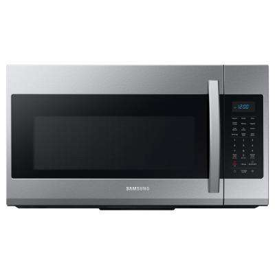 30 In 1 9 Cu Ft Over The Range Microwave Fingerprint Resistant Stainless Steel